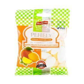 Bomboane Pehely cu aromă de lămâie și portocale - 70gr