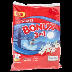 Bonux 3in1 White Liliac detergent manual pentru rufe - 400gr