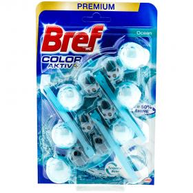 BrefTrio Blue Ocean odorizant pentru vasul de toaletă - 3x50g