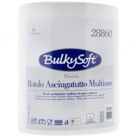 Bulky Premium hârtie prosop de bucătărie 2 straturi, 500 de foi - 1 rolă