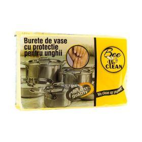 Burete de vase cu canelură Bee Clean - 1buc