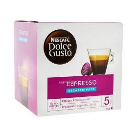 Capsule de cafea Nescafe Dolce Gusto Espresso Decaffeinato - 96gr