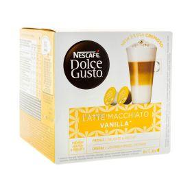 Capsule de cafea Nescafe Dolce Gusto Latte Macchiato Vanilla - 153.6gr