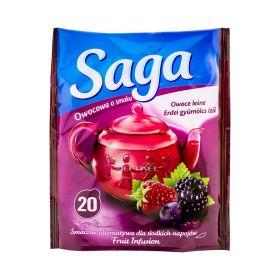 Ceai Saga cu gust de fructe de pădure - 20x1.7gr