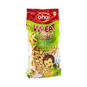 Cereale din grâu expandat cu miere Oho Wheat with Honey - 150gr