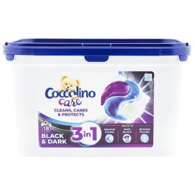 Coccolino-det.caps.18x27g black-dark 3in1