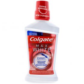 Colgate-apa de gura 500ml max white Expert