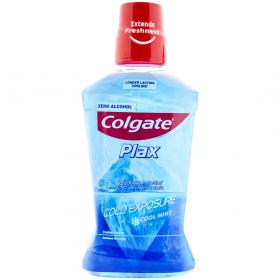 Colgate PLAX Cold Exposure Cool Mint apă de gură - 500ml