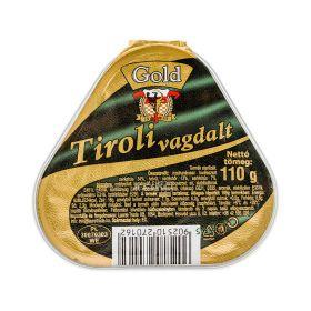 Conservă de carne de pui și porc Gold Tiroli Vagdalt - 110gr
