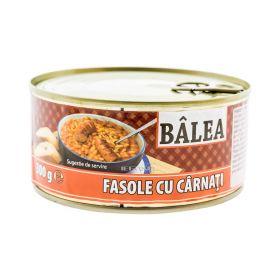 Conservă de fasole cu cârnați Bâlea - 300gr