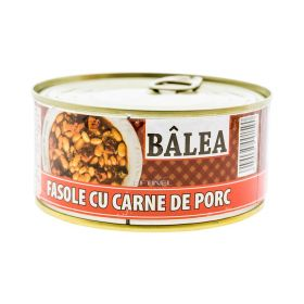Conservă de fasole cu carne de porc Bâlea - 300gr