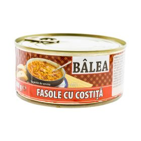Conservă de fasole cu costiță Bâlea - 300gr