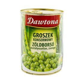 Conservă de mazăre verde Dawtona - 400gr