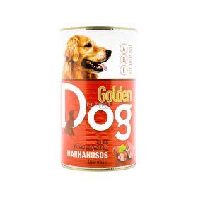 Conservă pentru câini Golden Dog cu gust de vită - 1240gr