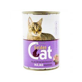 Conservă pentru pisici Golden Cat cu gust de ficat - 415gr