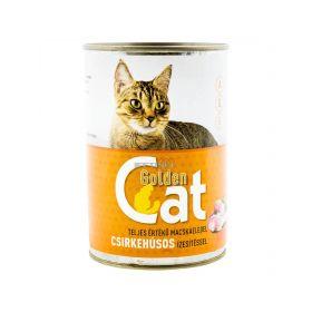 Conservă pentru pisici Golden Cat cu gust de pasăre - 415gr