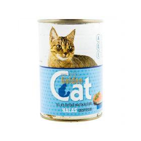 Conservă pentru pisici Golden Cat cu gust de pește - 415gr