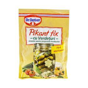 Conservant cu verdețuri pentru murături Dr. Oetker Pikant Fix - 100gr
