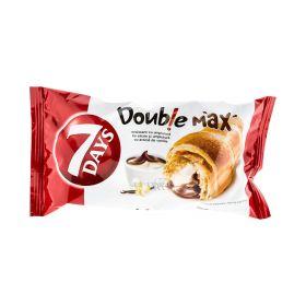 Croissant 7Days Double Max cu cremă de cacao și vanilie - 80gr