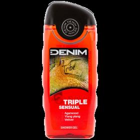 Denim Tribe gel de duș pentru bărbați - 250ml