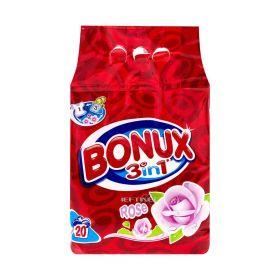 Detergent automat Bonux 3în1 Rose - 2kg