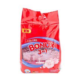 Detergent de rufe Bonux Radiant Rose Color (40 spălări) - 4kg