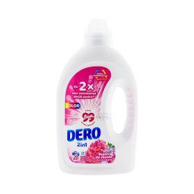 Detergent lichid de rufe Dero Bujor de munte (20 spălări) - 1L