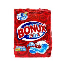 Detergent manual de rufe Bonux 3în1 Active Fresh - 400gr