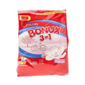 Detergent manual de rufe Bonux 3în1 Pure Magnolia - 400gr