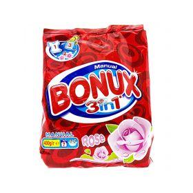 Detergent manual de rufe Bonux 3în1 Rose - 400gr