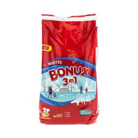 Detergent praf Bonux Ice Fresh pentru rufe Albe (16 spălări) - 900gr