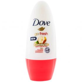 Dove Go Fresh Apple and White Tea deodorant roll-on pentru femei - 50ml