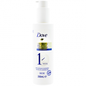 Dove 1 Minute Milk Gel Intensive Repair balsam de păr - 200ml