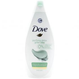 Dove Purifying Detox Green Clay gel de duș pentru femei - 500ml