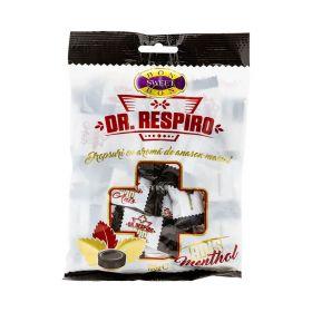 Dropsuri Dr. Respiro cu aromă de anason și mentol - 100gr