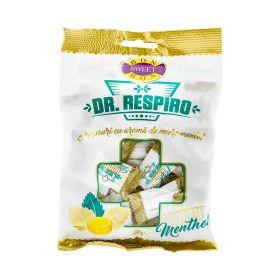 Dropsuri Dr Respiro cu aromă de miere și mentol - 100gr