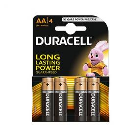 Duracell Alkaline AA LR6 baterii - 4 buc.