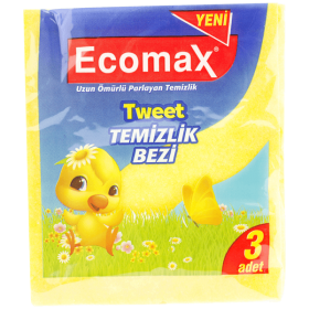 Ecomax lavete universale, 30x35cm - 3/set