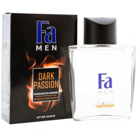 Fa Dark Passion loțiune after shave pentru bărbați - 100ml