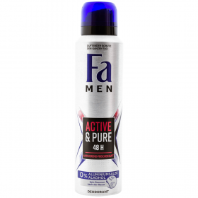 Fa MEN Active and Pure deodorant spray pentru bărbați - 150ml