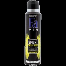 Fa Sport Energy Boost deodorant spray pentru bărbați - 150ml