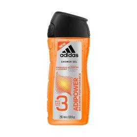 Gel de duș pentru bărbați Adidas Adipower - 250ml