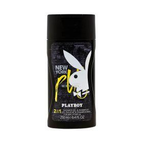 Gel de duș pentru bărbați Playboy 2în1 New York - 250ml