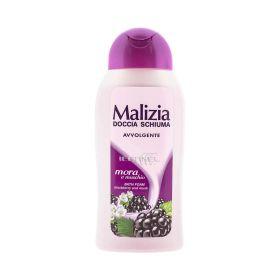 Gel de duș pentru femei Malizia Blackberry Musk - 300ml