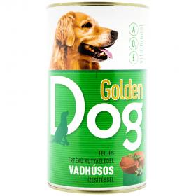Golden Dog conservă cu gust de vânat pentru câini - 1240gr