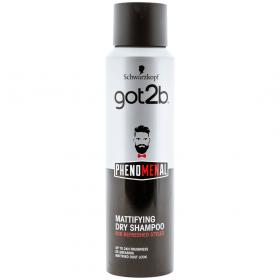 Got2b PhenoMENal Mattifying șampon uscat pentru bărbați - 150ml
