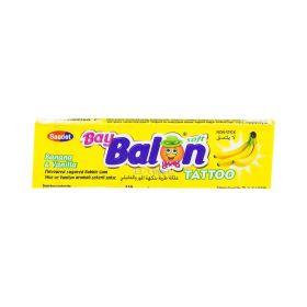 Gumă de mestecat Asmin Baybalon cu gust de banană - 18gr