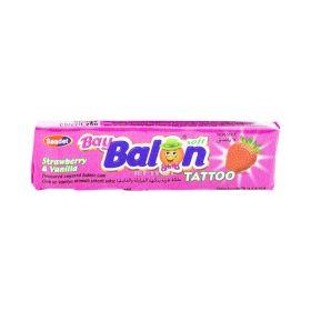 Gumă de mestecat Asmin Baybalon cu gust de căpșuni - 18gr