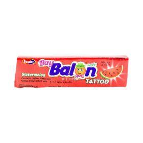 Gumă de mestecat Asmin Baybalon cu gust de pepene - 18gr