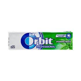 Gumă de mestecat Orbit Professional Spearmint - 12buc